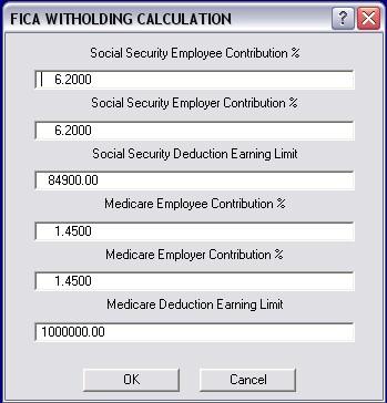 auto shop writer 9 1 rh masterlinksoftware com Fica Rate Fica Tax Code